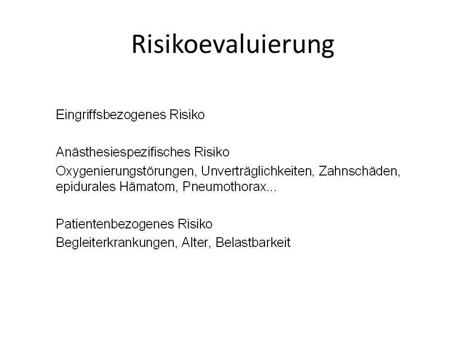 Risikoevaluierung