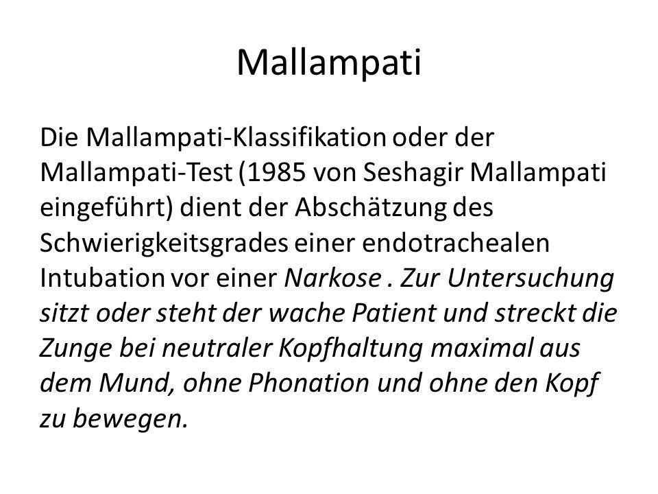 Mallampati