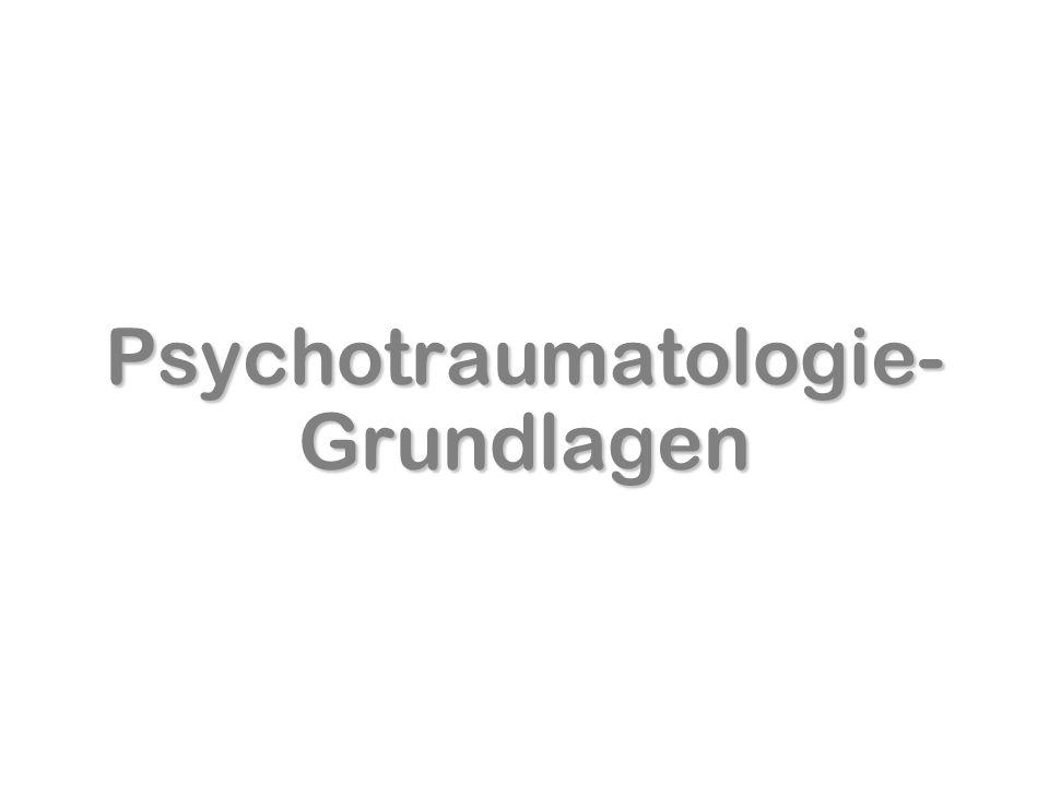 Psychotraumatologie-