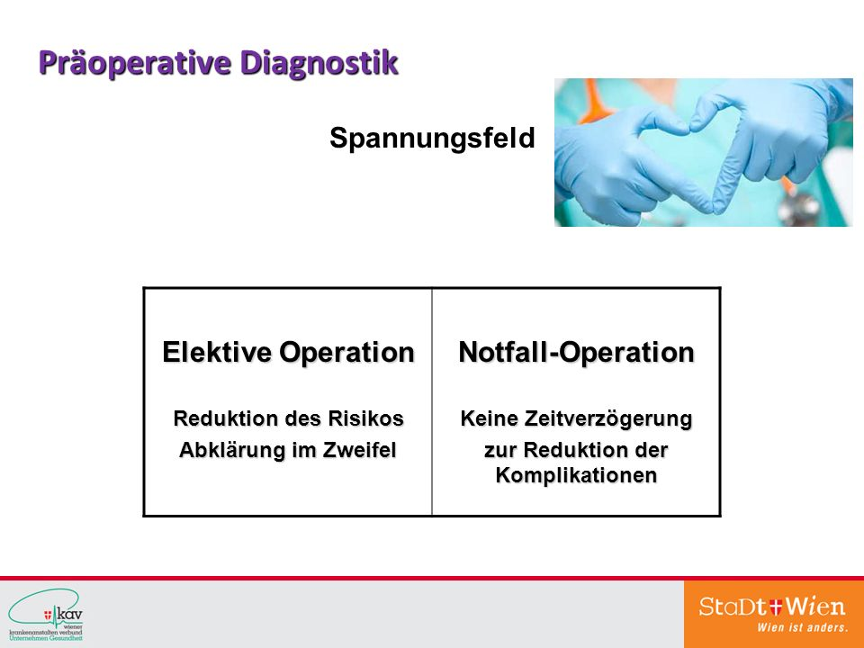 Präoperative Diagnostik