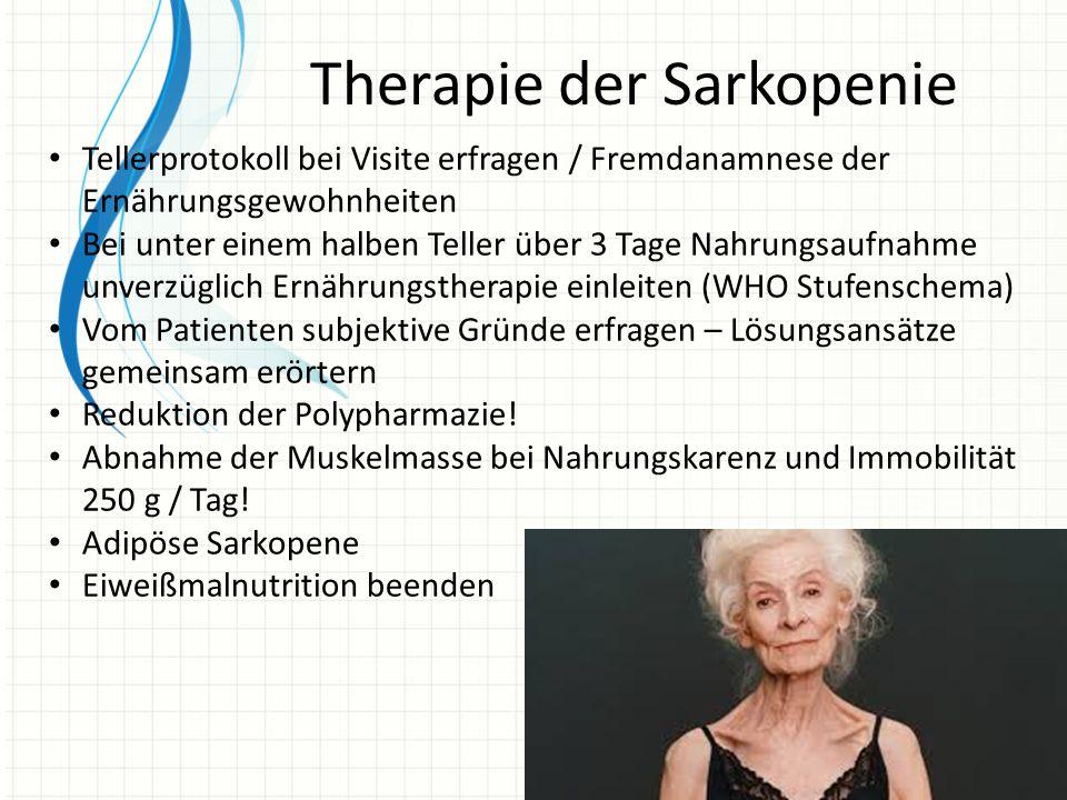 Therapie der Sarkopenie