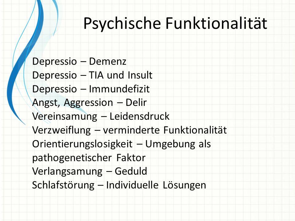Psychische Funktionalität