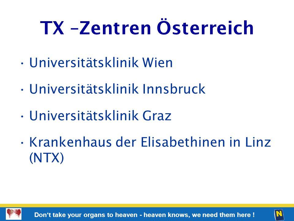 TX –Zentren Österreich