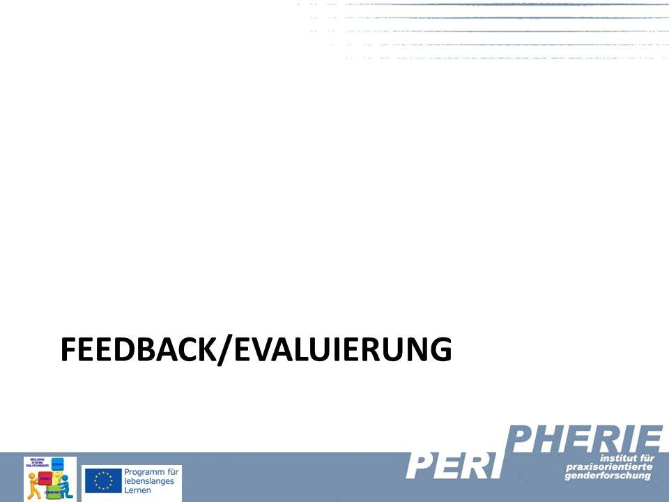 Feedback/Evaluierung