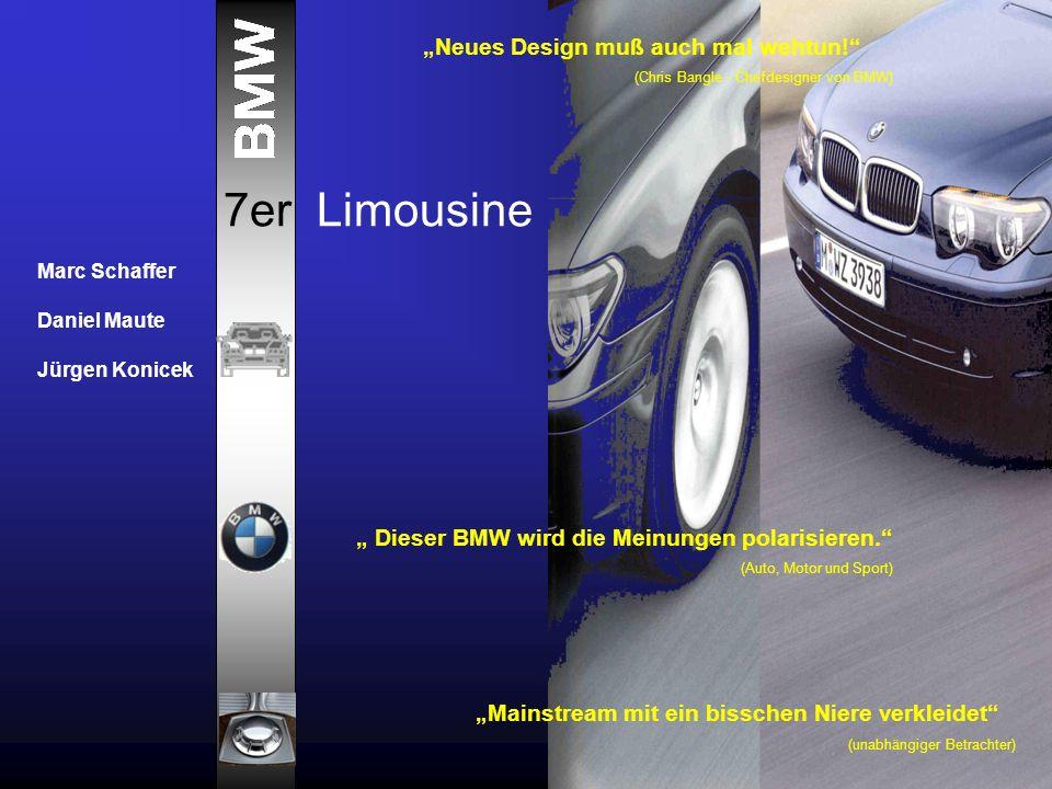 "7er Limousine ""Neues Design muß auch mal wehtun!"