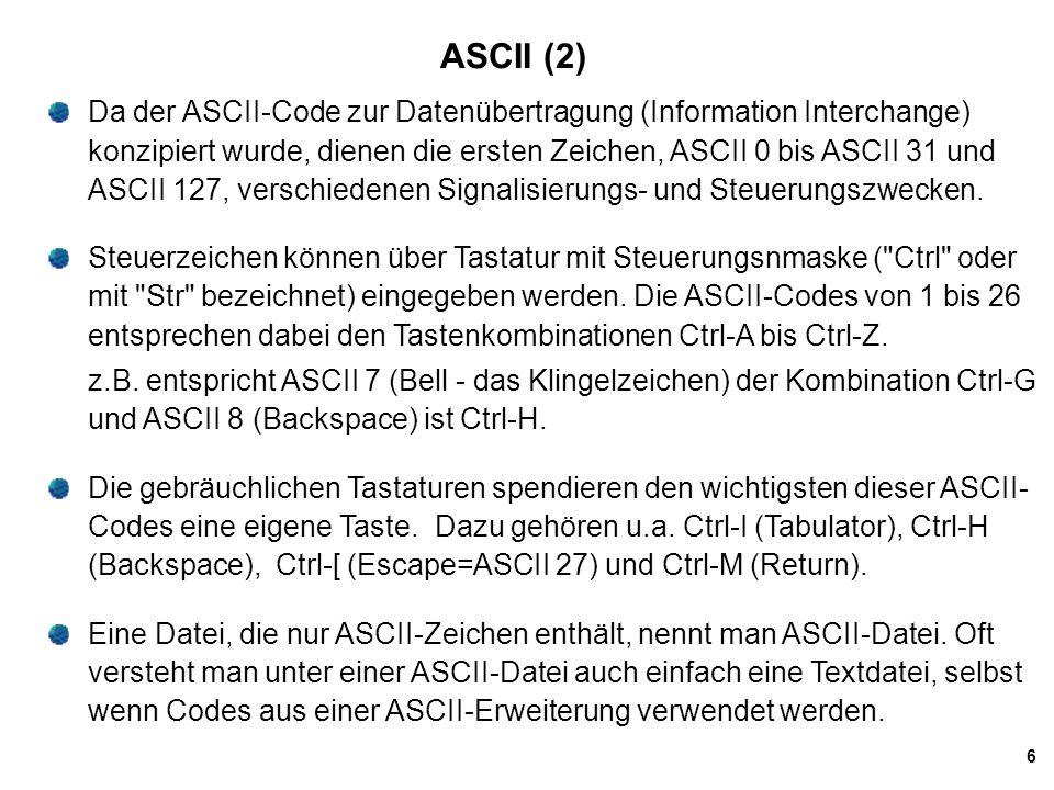 ASCII (2)