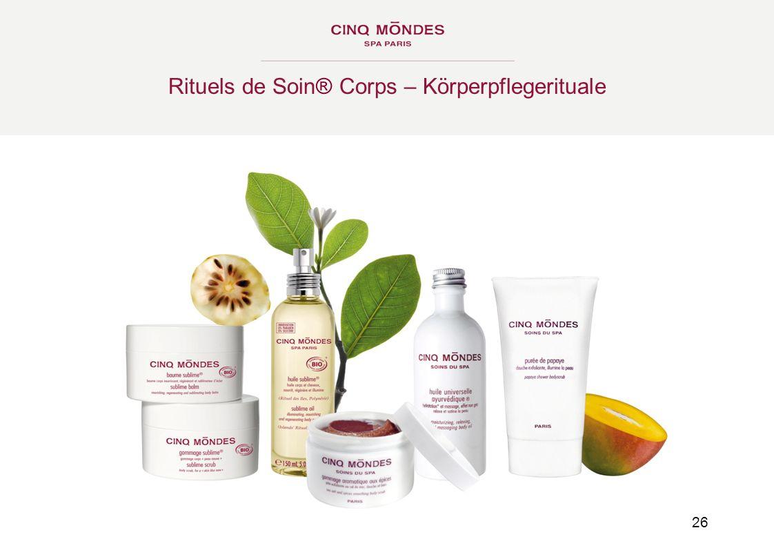 Rituels de Soin® Corps – Körperpflegerituale