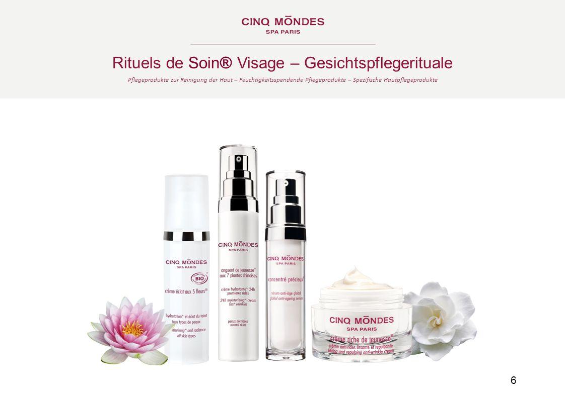 Rituels de Soin® Visage – Gesichtspflegerituale