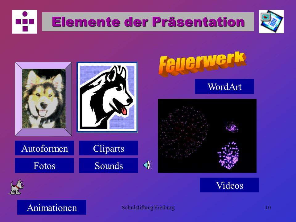 Elemente der Präsentation