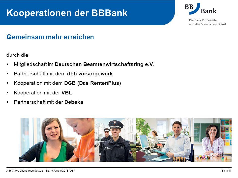 Kooperationen der BBBank