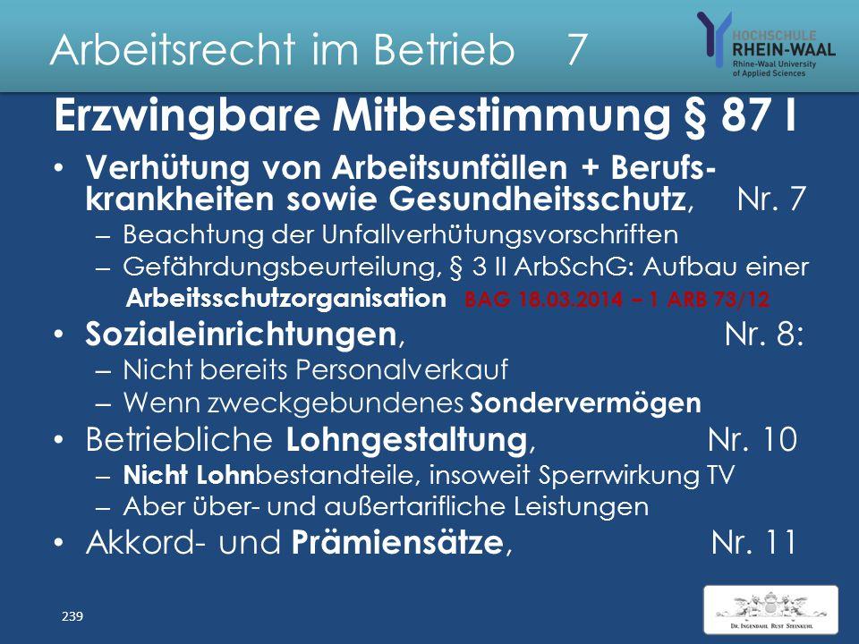 Arbeitsrecht im Betrieb 7
