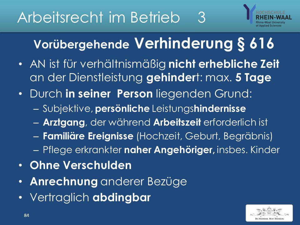 Arbeitsrecht im Betrieb 3