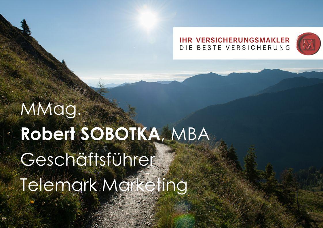 MMag.Robert Sobotka,MBA
