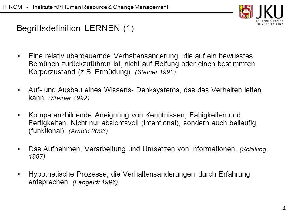Begriffsdefinition LERNEN (1)