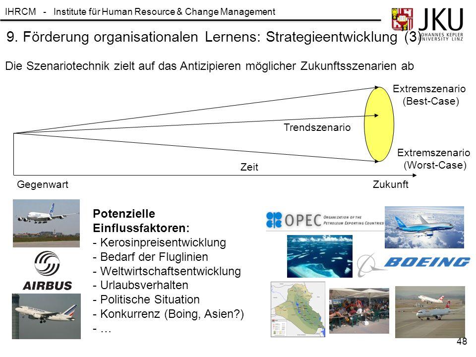 9. Förderung organisationalen Lernens: Strategieentwicklung (3)