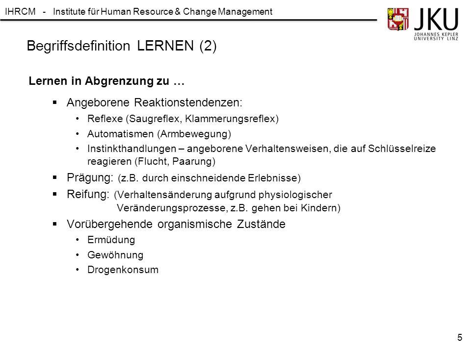 Begriffsdefinition LERNEN (2)