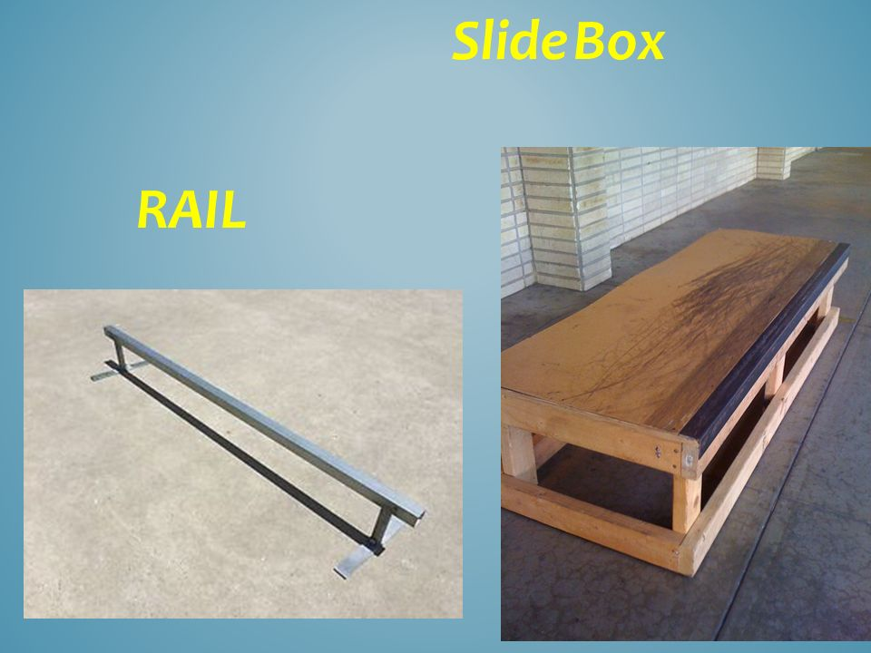 Slide Box RAIL