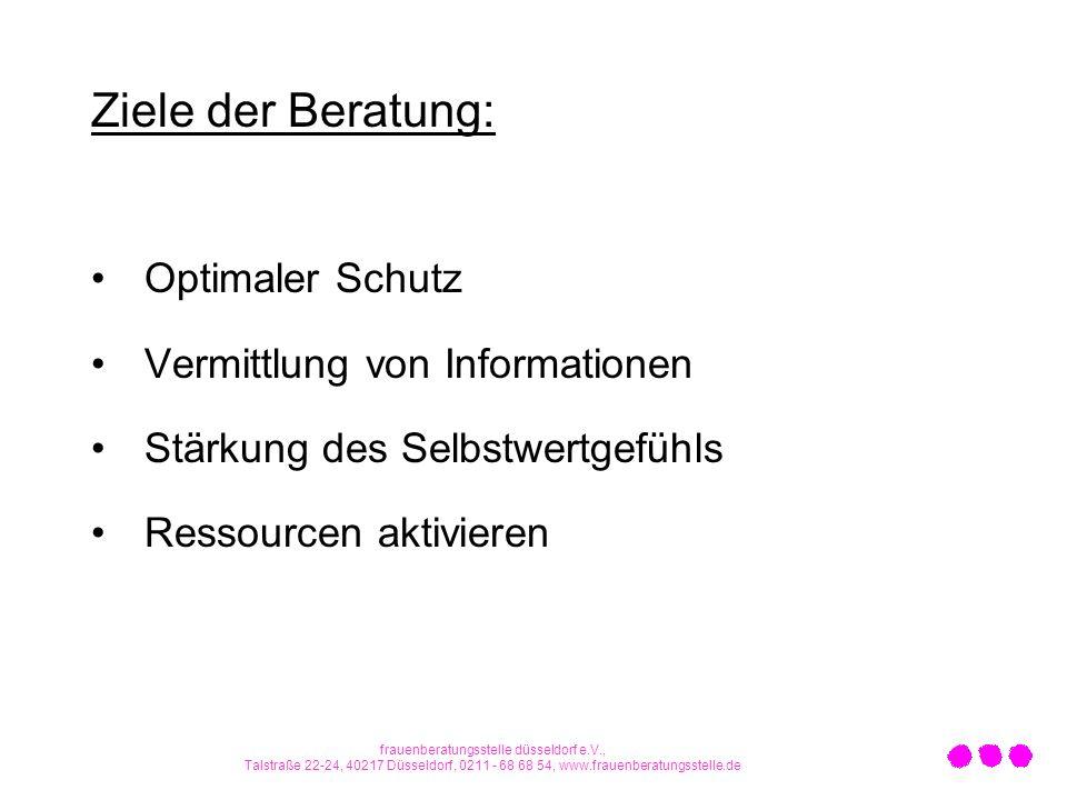 frauenberatungsstelle düsseldorf e.V.,