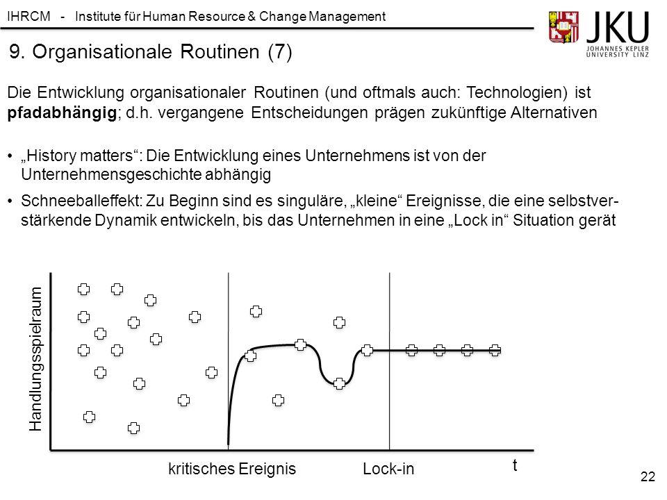 9. Organisationale Routinen (7)