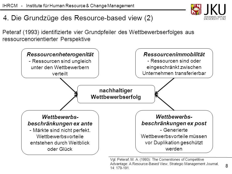 4. Die Grundzüge des Resource-based view (2)