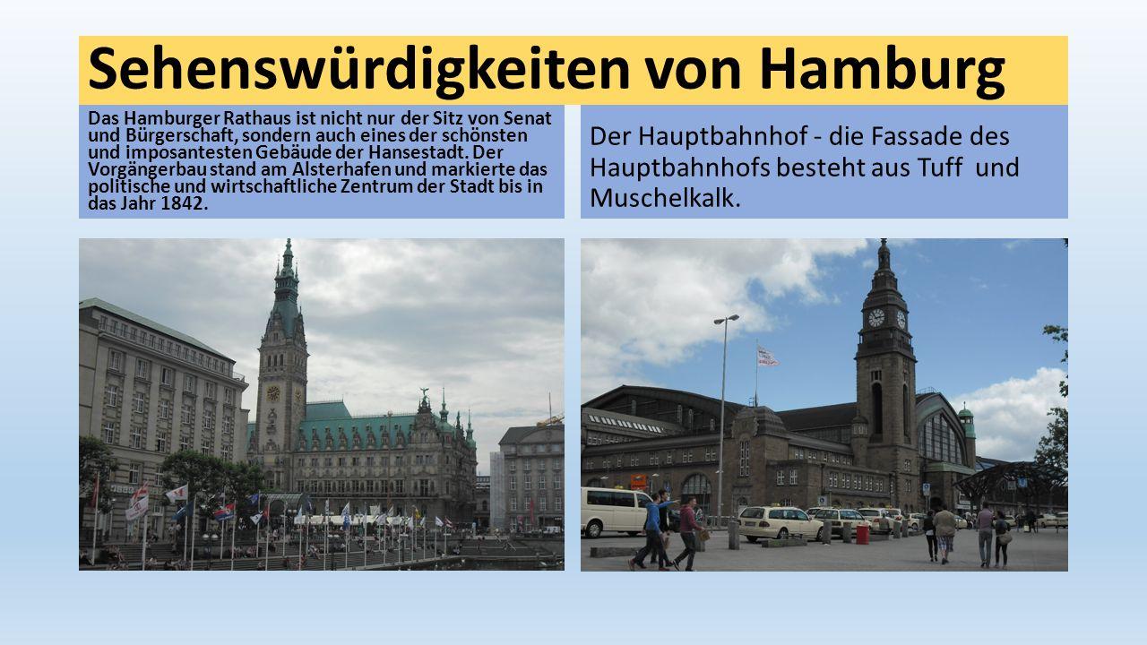 Sehenswürdigkeiten von Hamburg
