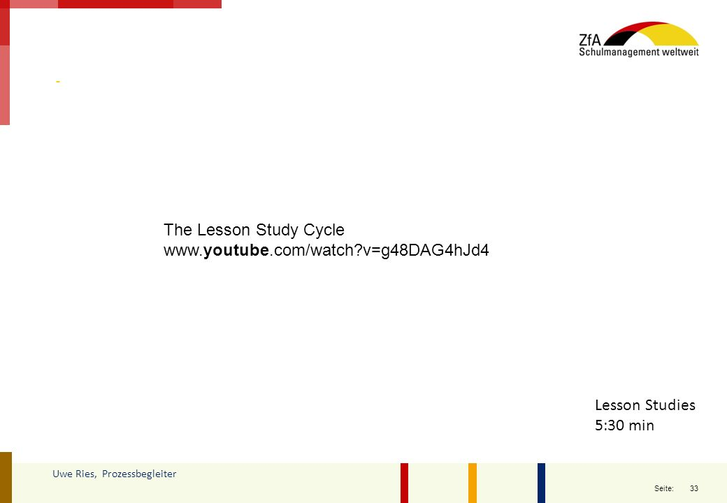 The Lesson Study Cycle www.youtube.com/watch v=g48DAG4hJd4