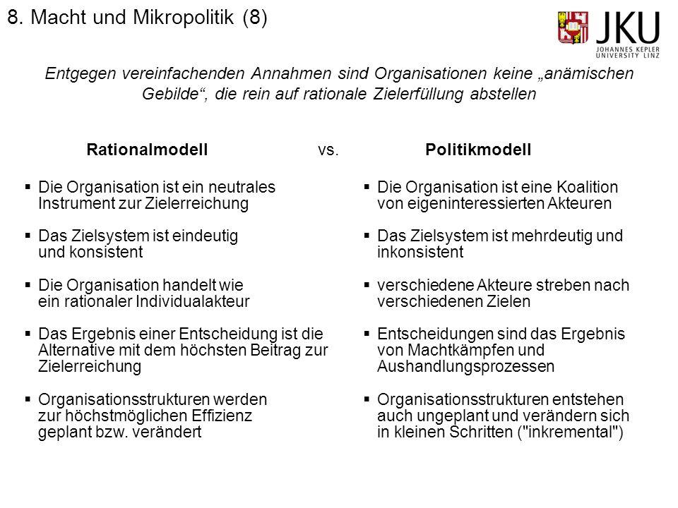 8. Macht und Mikropolitik (8)