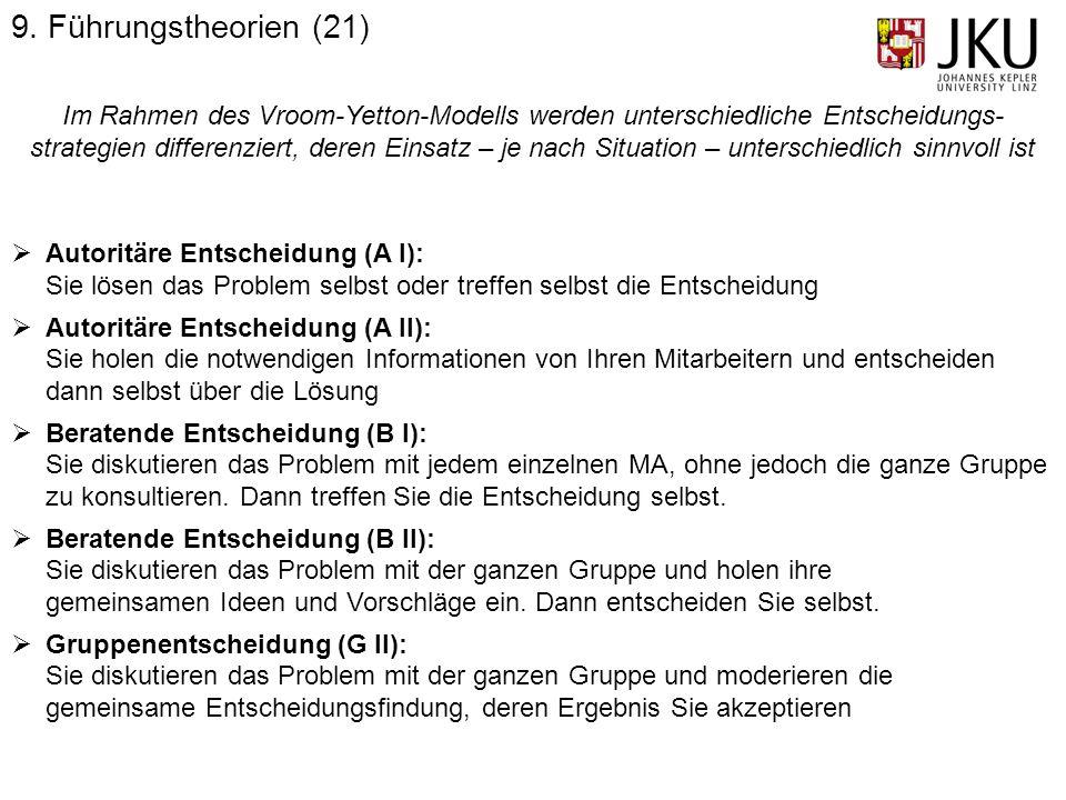 9. Führungstheorien (21)