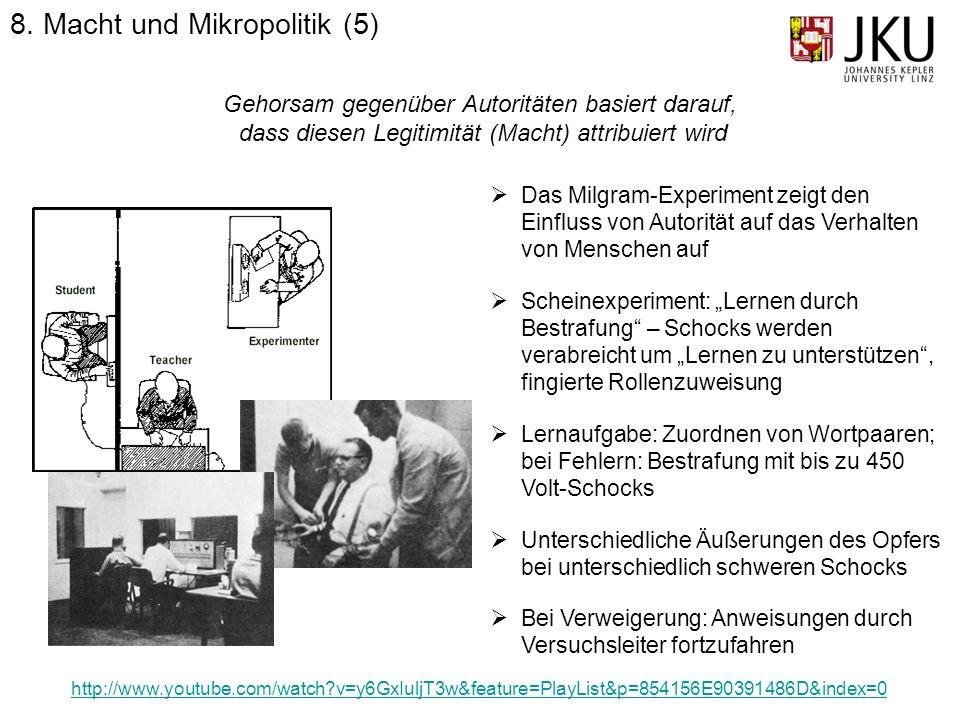 8. Macht und Mikropolitik (5)