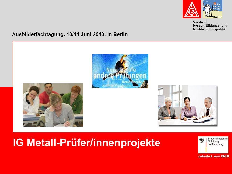 Ausbilderfachtagung, 10/11 Juni 2010, in Berlin