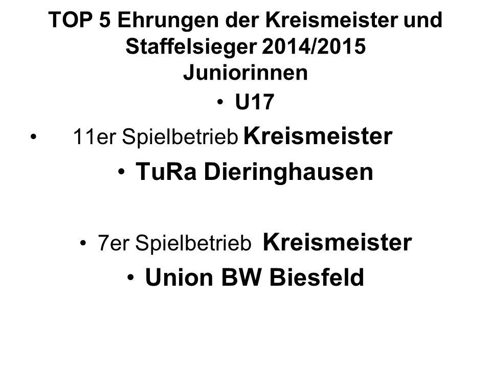 7er Spielbetrieb Kreismeister