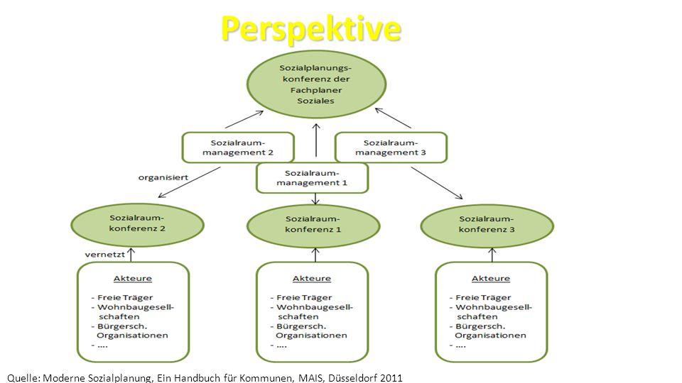 Perspektive Quelle: Moderne Sozialplanung, Ein Handbuch für Kommunen, MAIS, Düsseldorf 2011