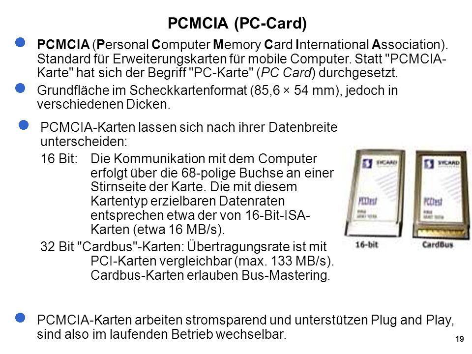 PCMCIA (PC-Card)