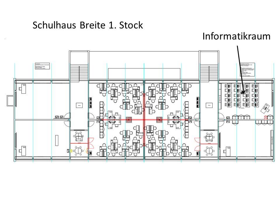 Schulhaus Breite 1. Stock