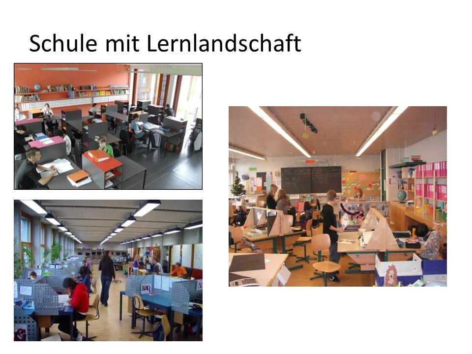 Schule mit Lernlandschaft