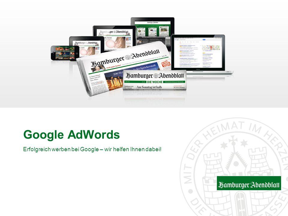 Erfolgreich werben bei Google – wir helfen Ihnen dabei!
