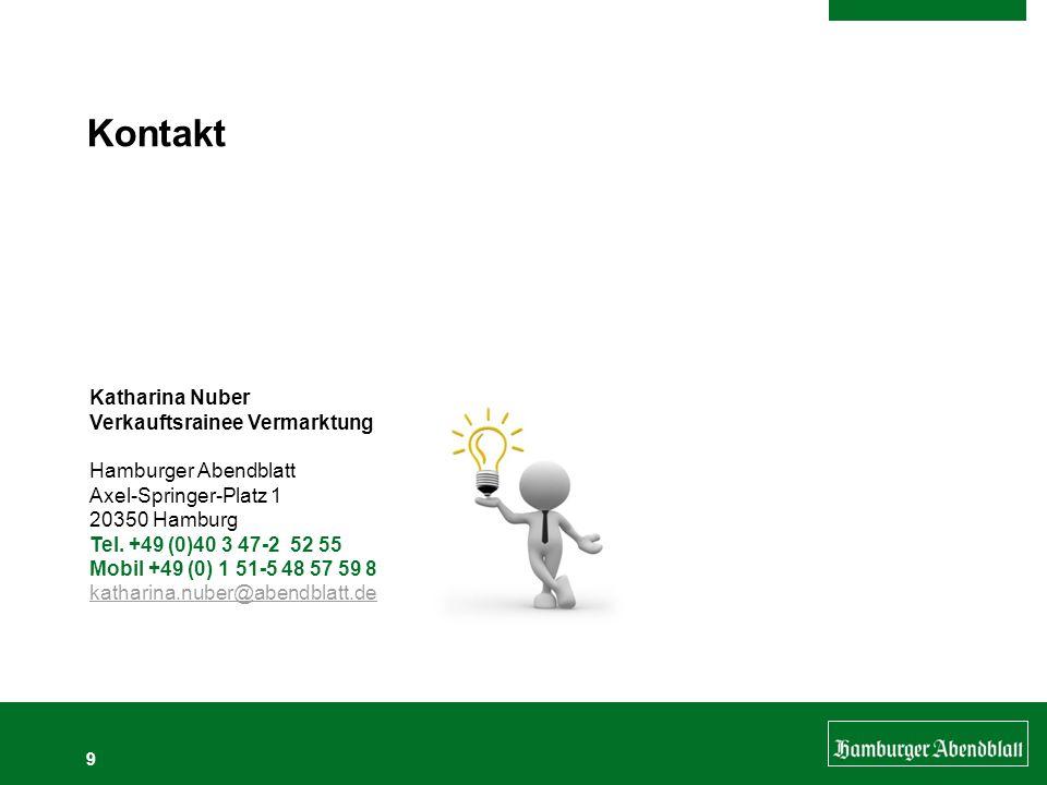 Kontakt Katharina Nuber Verkauftsrainee Vermarktung