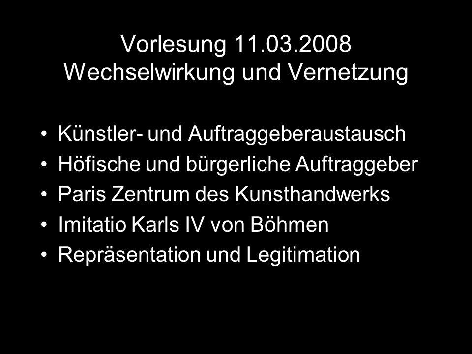 Vorlesung 11.03.2008 Wechselwirkung und Vernetzung