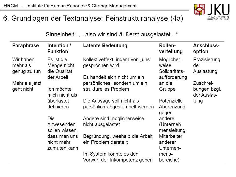 6. Grundlagen der Textanalyse: Feinstrukturanalyse (4a)