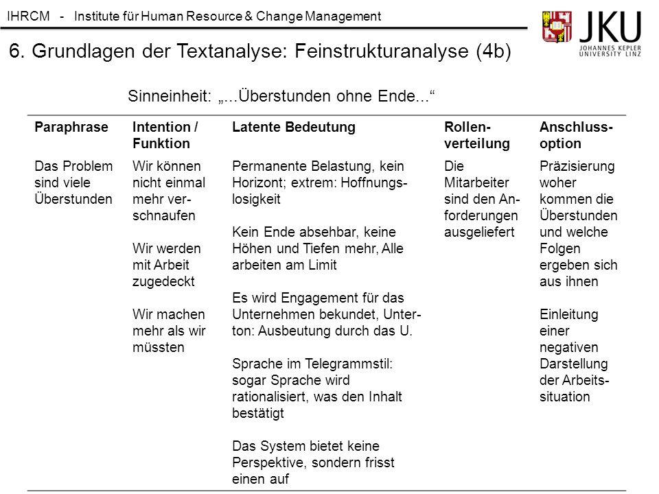 6. Grundlagen der Textanalyse: Feinstrukturanalyse (4b)