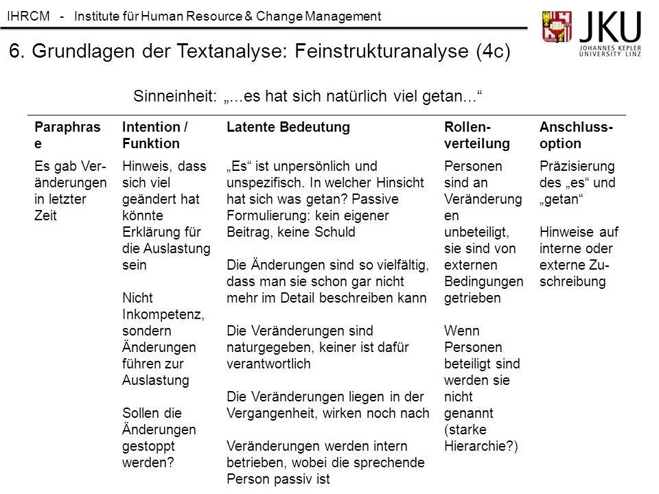 6. Grundlagen der Textanalyse: Feinstrukturanalyse (4c)