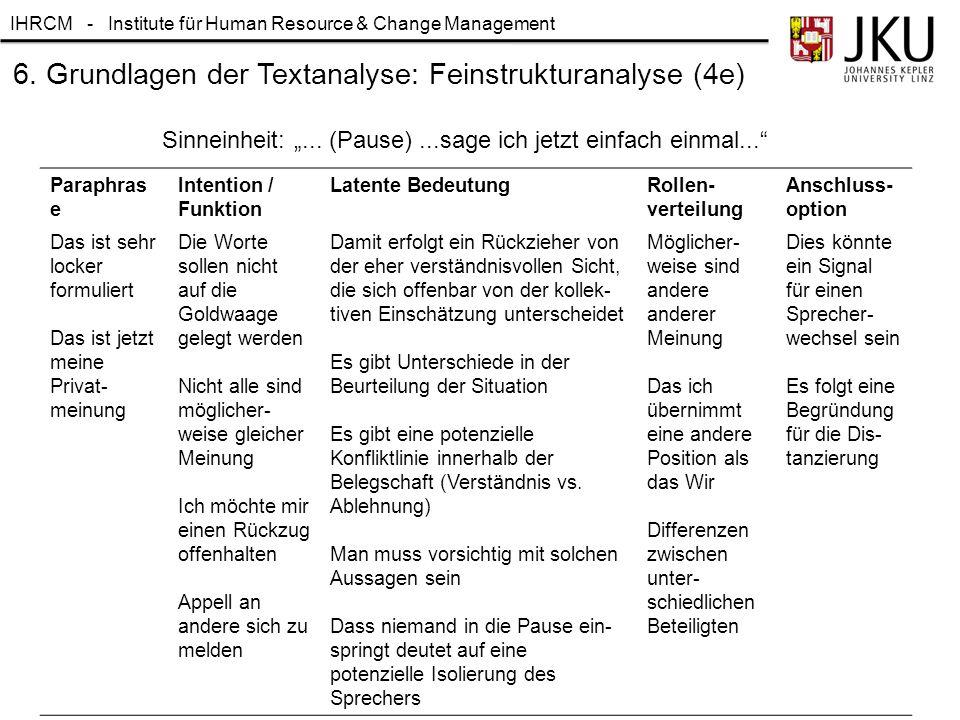 6. Grundlagen der Textanalyse: Feinstrukturanalyse (4e)