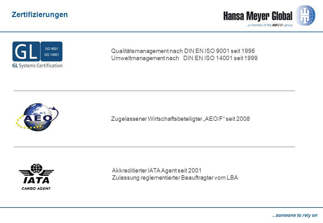 Zertifizierungen Qualitätsmanagement nach DIN EN ISO 9001 seit 1996