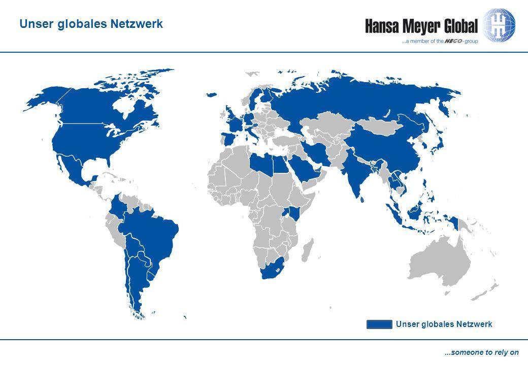 Unser globales Netzwerk