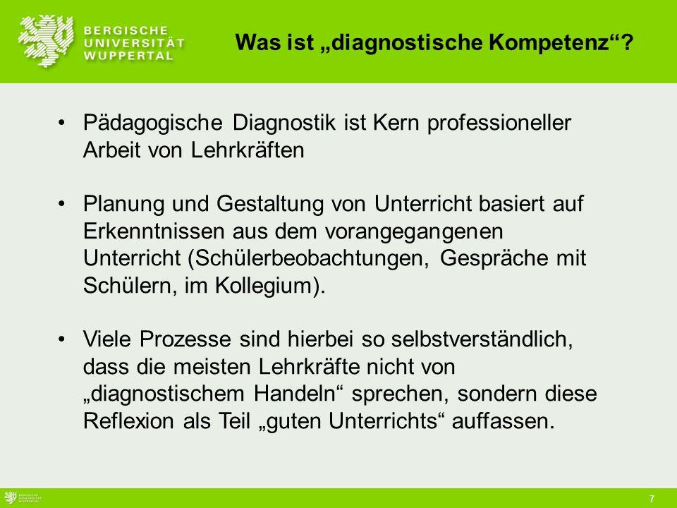 """Was ist """"diagnostische Kompetenz"""