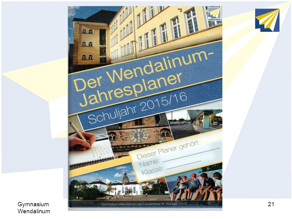 Hausaufgaben Gymnasium Wendalinum Elternseminar 2015/2016