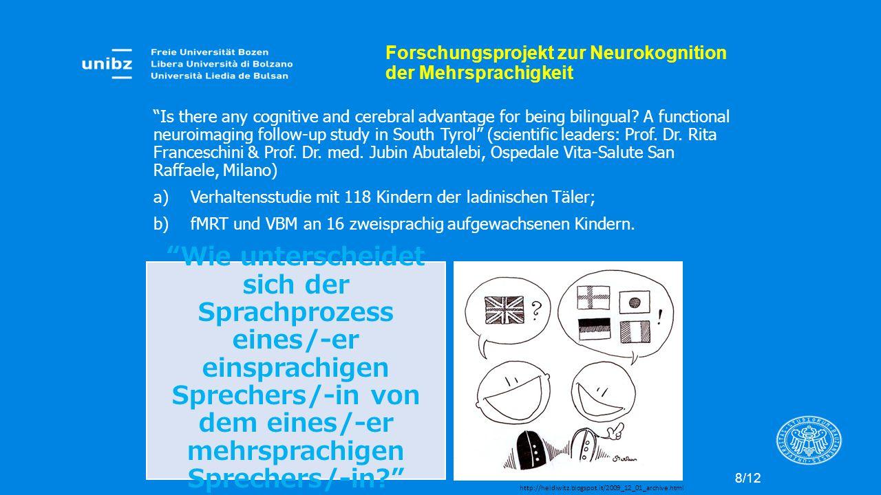 Forschungsprojekt zur Neurokognition der Mehrsprachigkeit