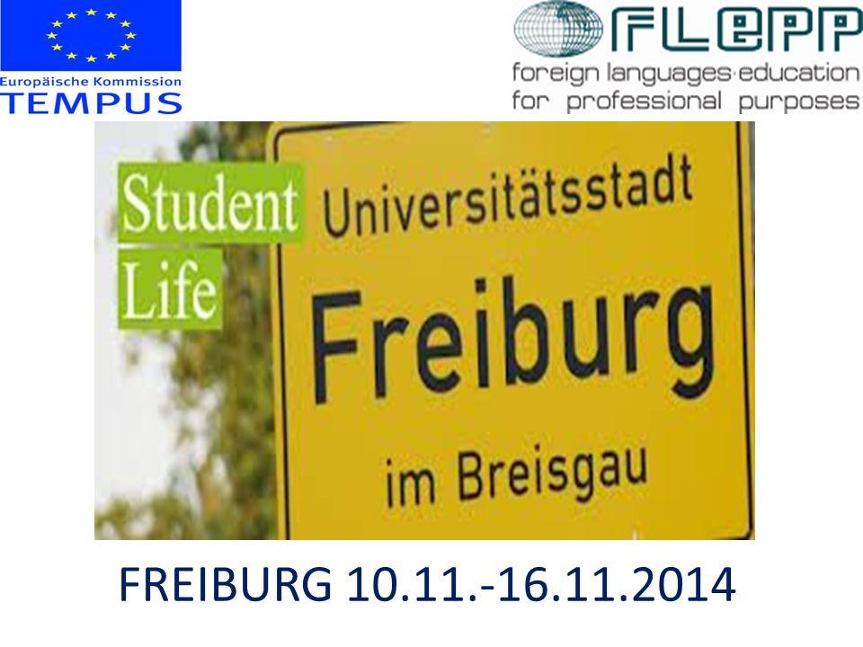 FREIBURG 10.11.-16.11.2014
