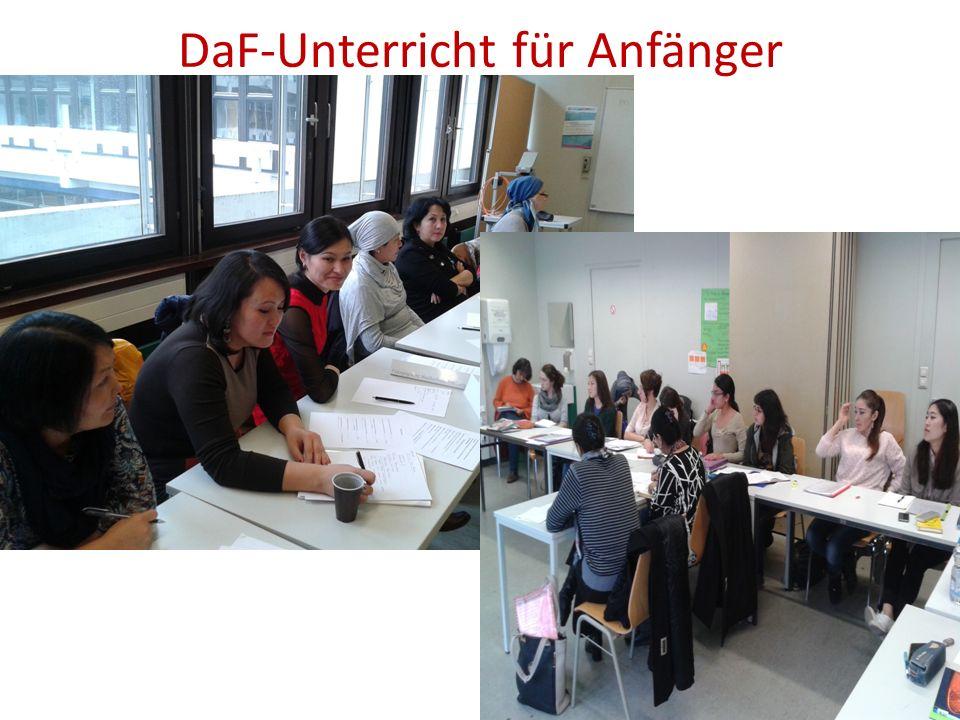 DaF-Unterricht für Anfänger