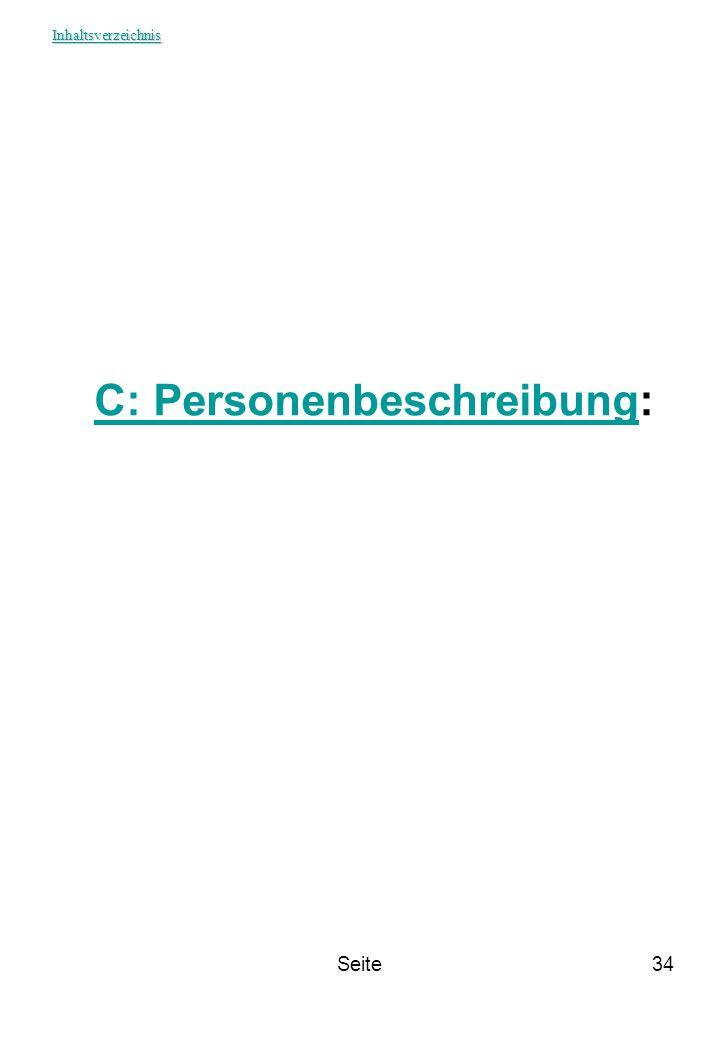 C: Personenbeschreibung:
